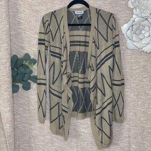 [say what] Open Front Knit Cardigan